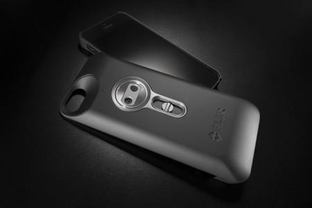 FLIR ONE, cámara termográfica presentada en el CES 2014 para el iPhone 5/5s