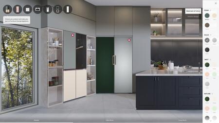 LG Furniture Concept Appliances permitirá al usuario personalizar el aspecto externo de sus electrodomésticos