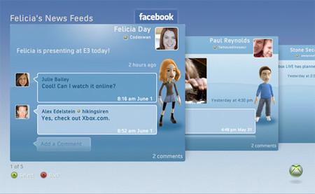 La actualización para Xbox 360 con Twitter, Facebook y Last.fm ya tiene fecha