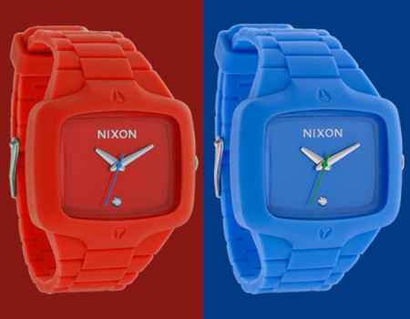 Relojes Nixon Rubber Player 4x4, cada mes un color