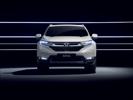 Honda Cr V Hybrid Concept 2