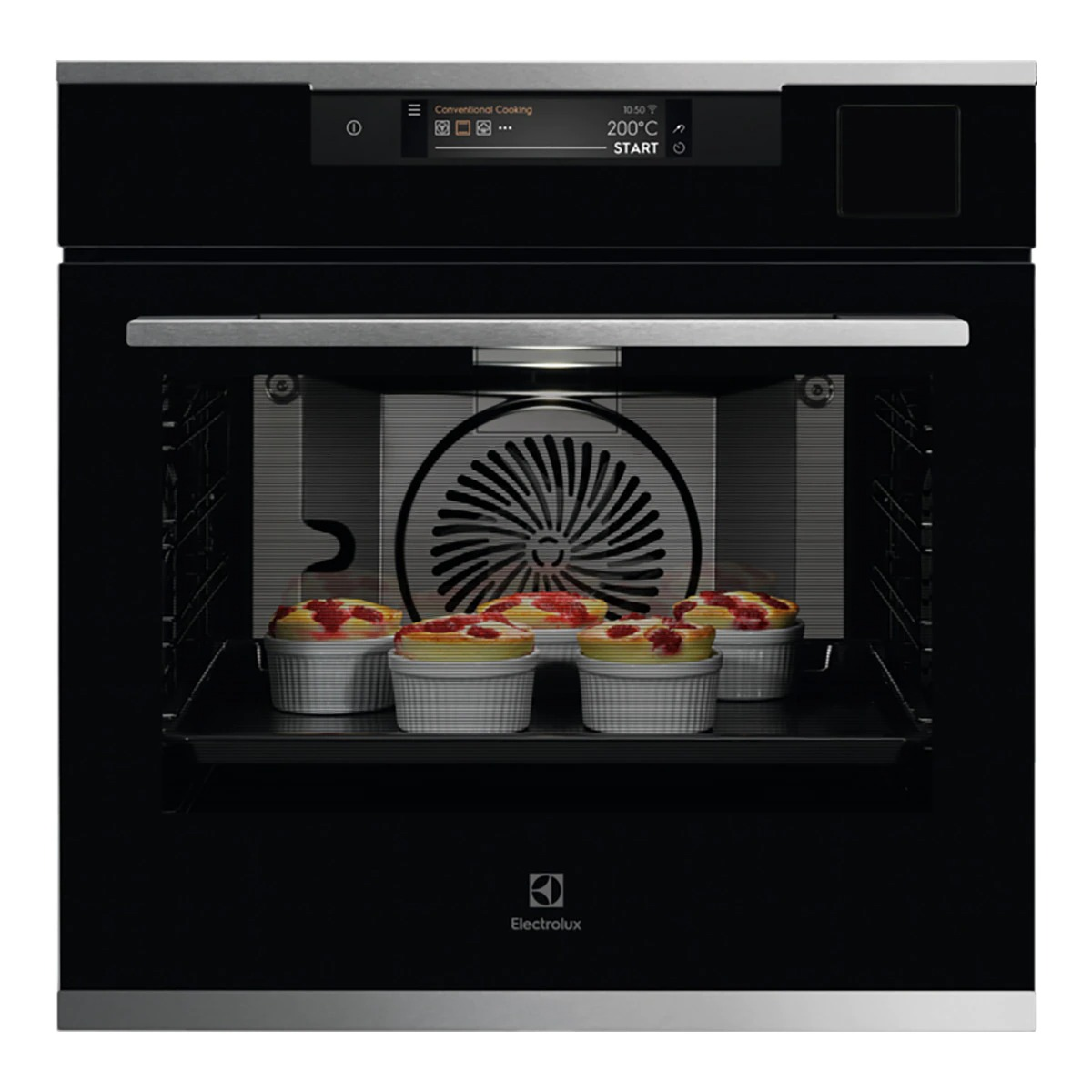 Electrolux KOAAS31CX Multifunction Oven with Steam Cleaning
