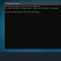 Cómo ver la clave de una WiFi almacenada en Windows 10