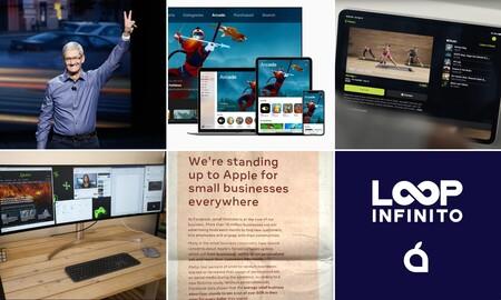 Sin Apple Fitness+, nueva perorata de Facebook, el estado de Apple Arcade... La semana del podcast Loop Infinito