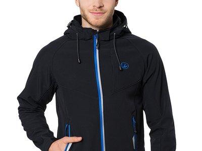 No pases frío con la chaqueta deportiva Softshell de tres capas   Ultrasport Miro: ahora 33,80 euros con envío gratis