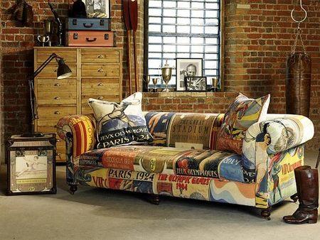 Redgrave sofá, el sofá de los campeones olímpicos