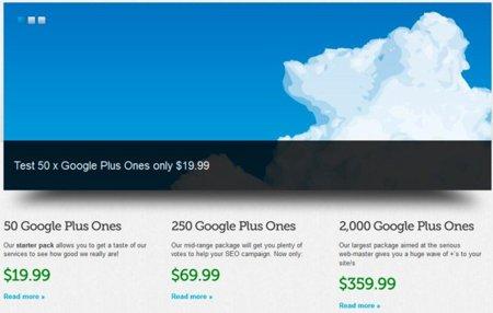"""¿Por qué comprar """"+1"""" de Google no es una buena idea?"""