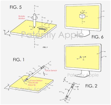 Apple Pencil patente