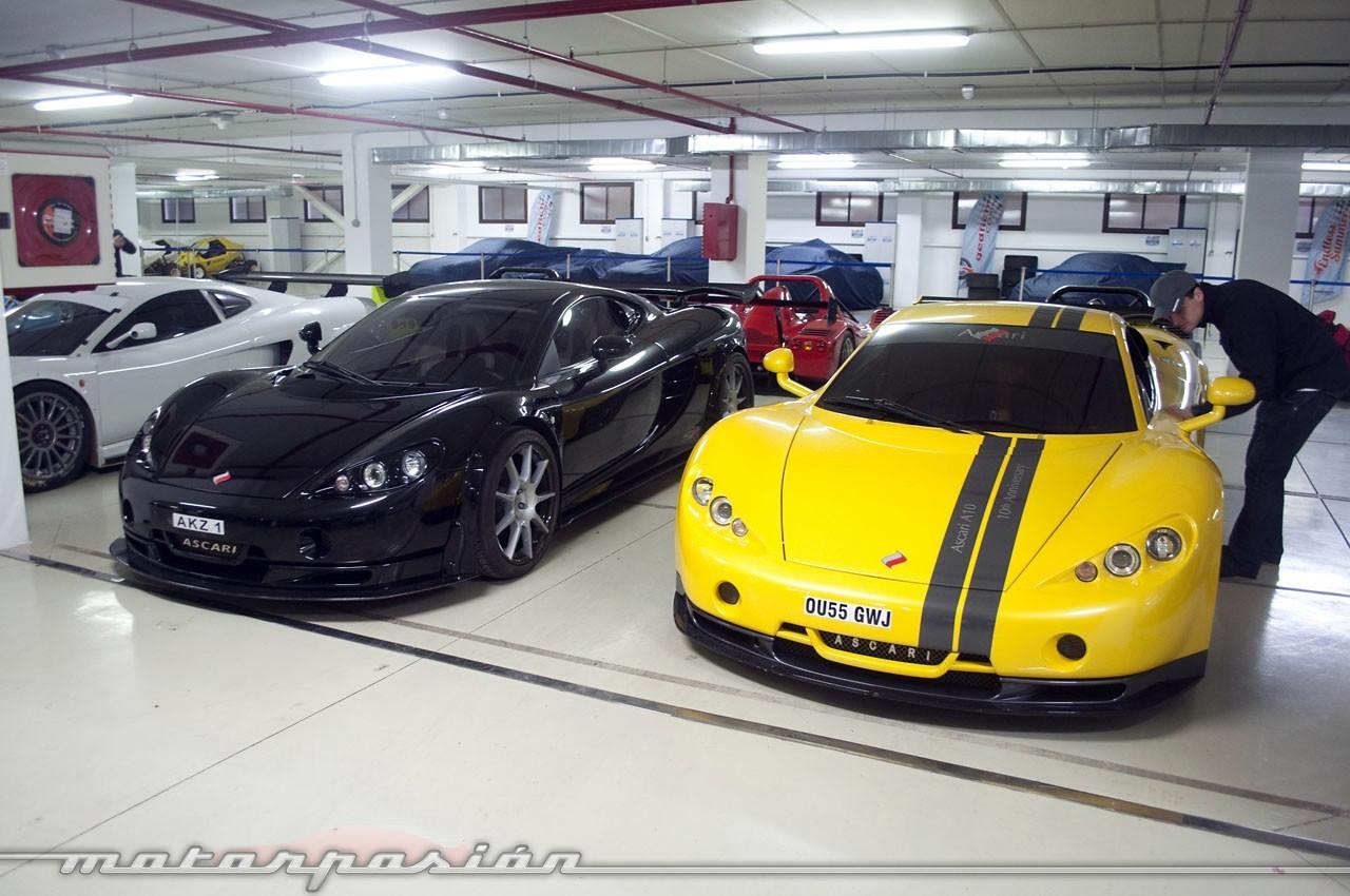 Foto de el garaje de ensue o del ascari race resort 13 36 - Garaje de coches ...