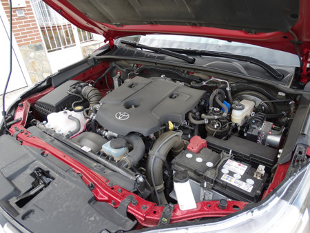 Prueba Toyota Hilux Motor