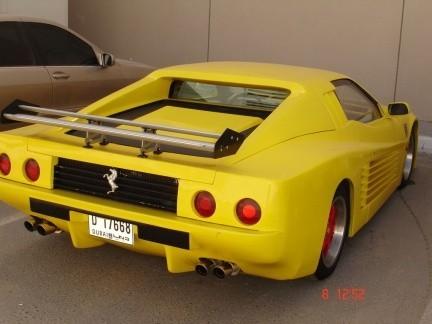 El Ferrari hecho en casa