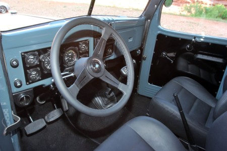 1942 Dodge Power Wagon 6x6 Moab Interior