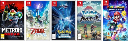 Preventa de juegos de Nintendo Switch en Amazon México