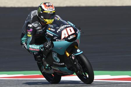 Darryn Binder celebra su posible salto de Moto3 directo a MotoGP marcando el mejor tiempo en Austria