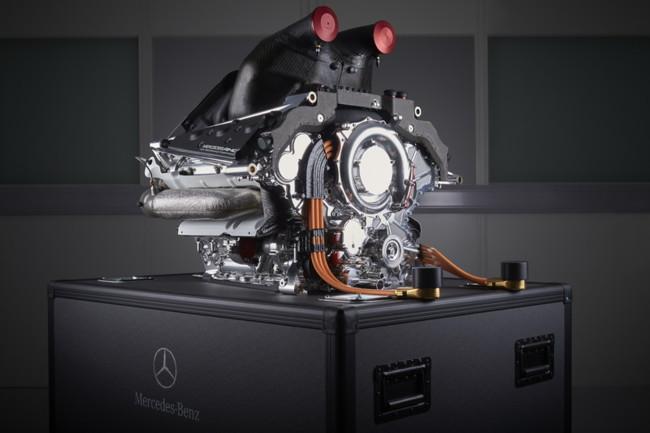 Motor Mercedes F1