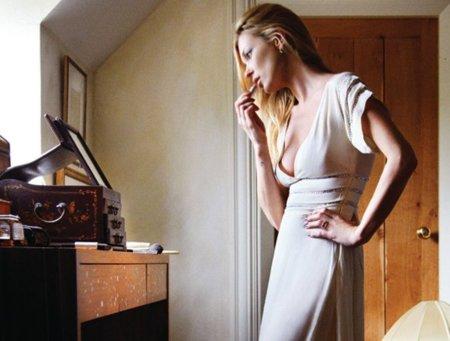 Kate Moss para Topshop, Otoño-Invierno 2010/2011 vestido