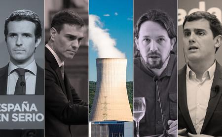 Energía nuclear y carbón: qué proponen todos los partidos en sus programas para las elecciones de 2019