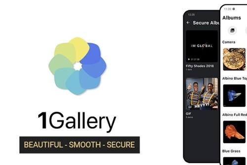 1Gallery: una aplicación de galería en la que puedes ocultar tus fotografías y vídeos con contraseña