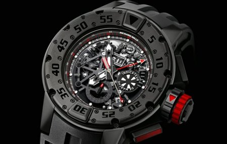 Richard Mille RM 032 Dark Diver Limited Edition, disponible sólo en su Beverly Hills Boutique