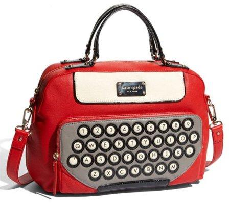 Una máquina de escribir convertida en bolso