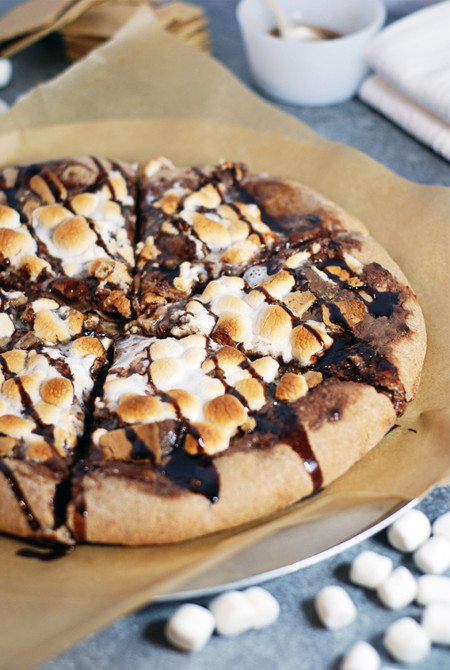 Whole Wheat Smores Dessert Pizza 1 688x1024