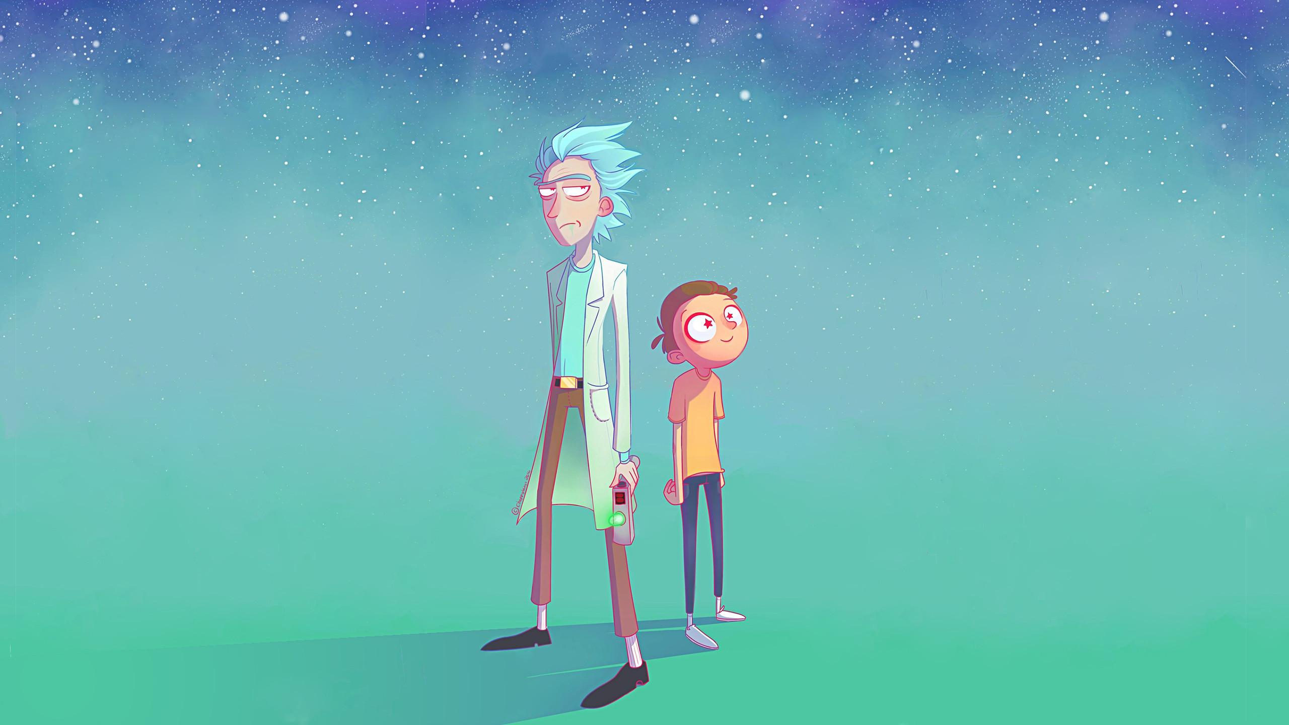 Foto de Fondos de pantalla de 'Rick y Morty' (11/13)