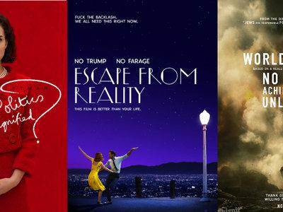 Di sí a la tradición de todos los años: los pósters honestos de los Oscars de 2017