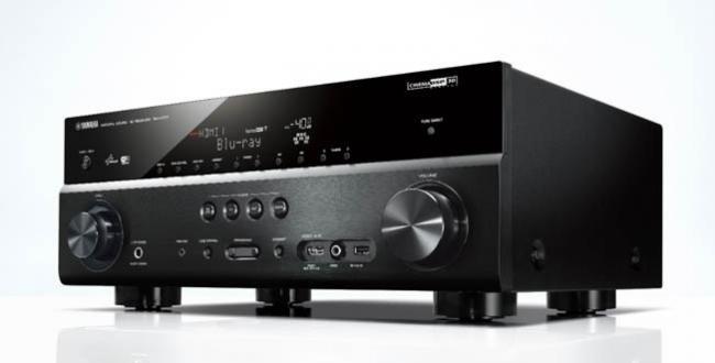 Yamaha ha presentado la serie de receptores A/V RX-V77 con 4K y dos lectores de Blu-ray