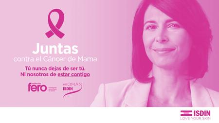 Campana Woman Isdin Juntas Contra El Cancer De Mama