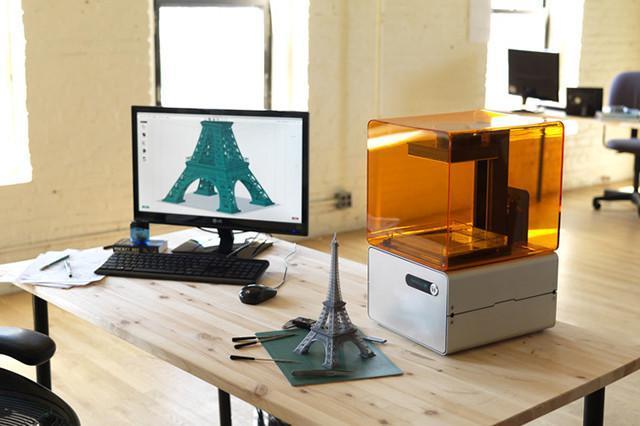 impresora 3D laser