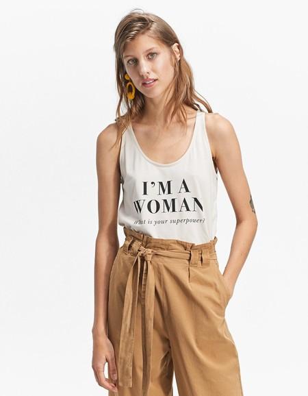Camisetas feministas Stradivarius