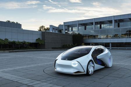 Toyota Concept-i conducción autónoma
