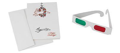 Tarjetas navideñas tridimensionales