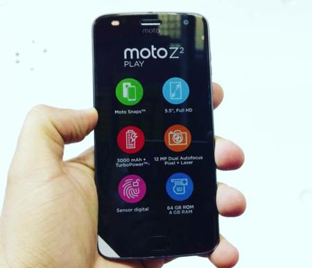 Moto Z2 Play Foto Filtrada