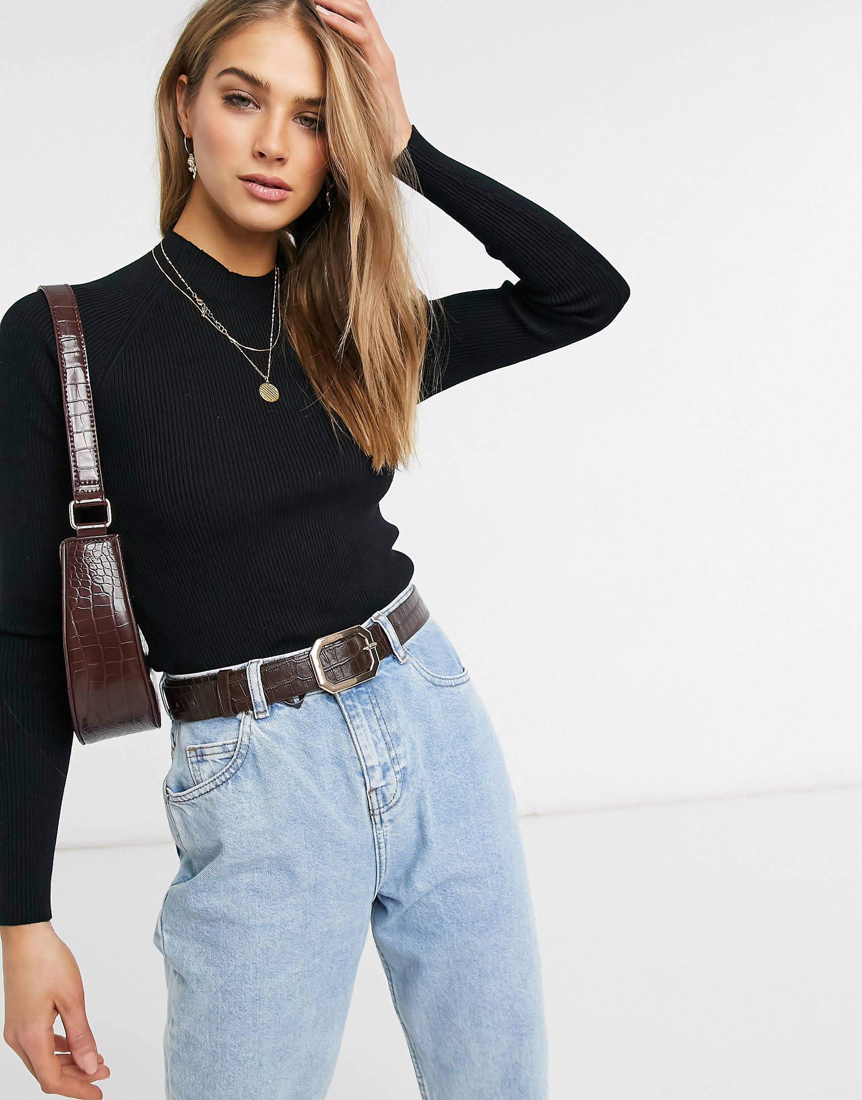 Jersey negro de Vero Moda