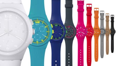 Nuevos relojes Swatch Chrono Plastic para el verano 2012
