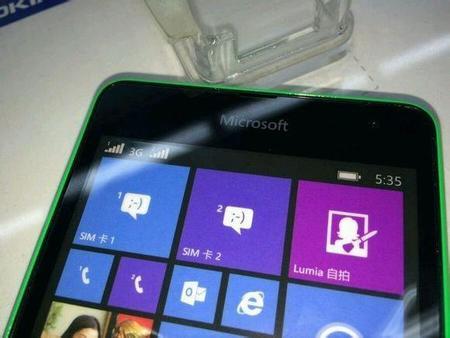 Lumia 535 Leak Front