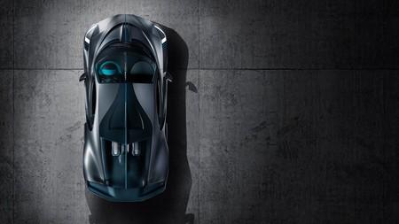 Bugatti Divo desde arriba