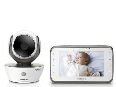 Vigilabebés Motorola MBP854 con cámara y WIFI por 193,60 euros