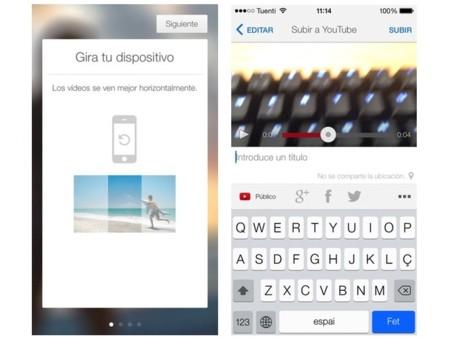 YouTube Capture se convierte en la primera aplicación de Google optimizada para iOS 7