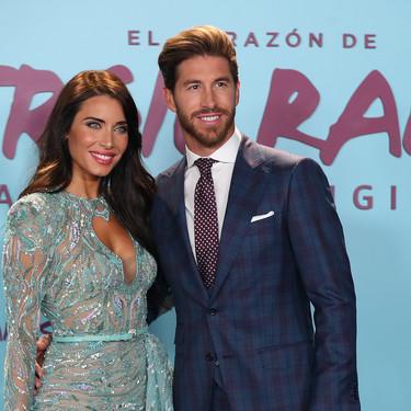 Sergio Ramos y Pilar Rubio reaparecen después de su boda en el estreno del documental del jugador