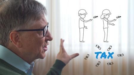 """Bill Gates: """"si un robot reemplaza el trabajo de un humano, este robot debe pagar impuestos como un humano"""""""