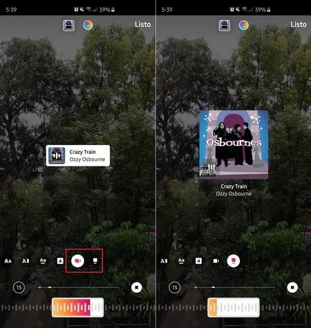 Instagram Stories Musica Letra Canciones