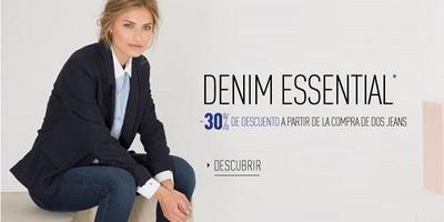 30 % de descuento en la compra de dos jeans de Pimkie
