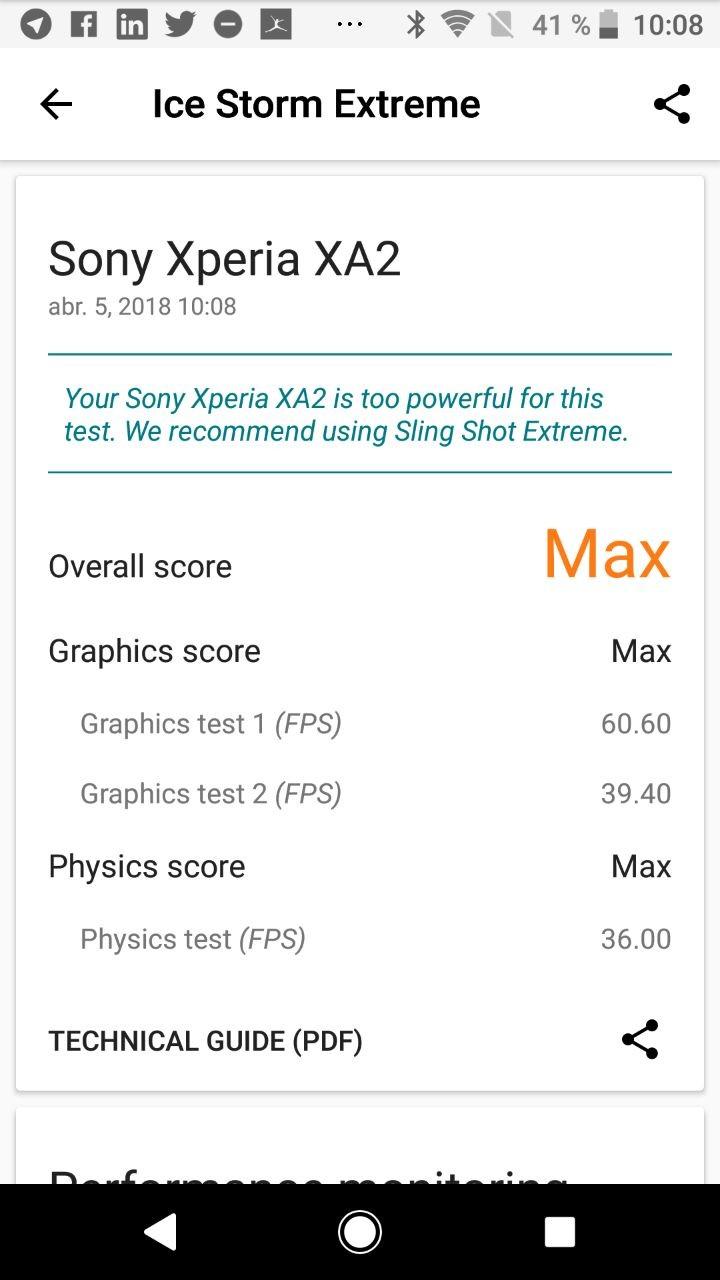 Foto de Benchmarks Sony Xperia XA2 (4/9)
