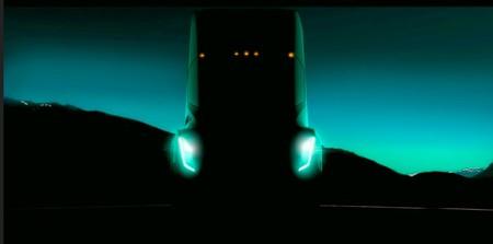 Tesla presenta la primera imagen y algunos detalles de su próximo camión eléctrico
