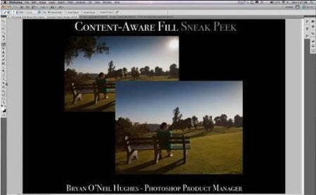 Content-Aware Fill, un tampón de clonar a lo bestia en Photoshop CS5