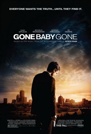 Póster de 'Gone Baby Gone' de Ben Affleck