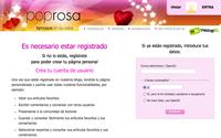 Registrarse en Poprosa: ahora mucho más fácil y rápido