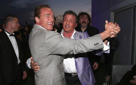 Así fue el 70º cumpleaños de Schwarzenegger: una gran fiesta con Stallone y James Cameron como invitados